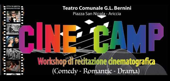 CINE CAMP – Workshop di recitazione cinematografica condotto da Giacomo Zito e Simone Durante